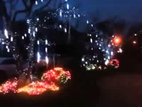 LED Meteor Lights