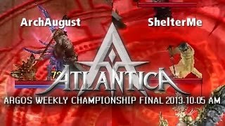 AR Weekly AM Final 2013-10-05: ArchAugust vs. ShelterMe
