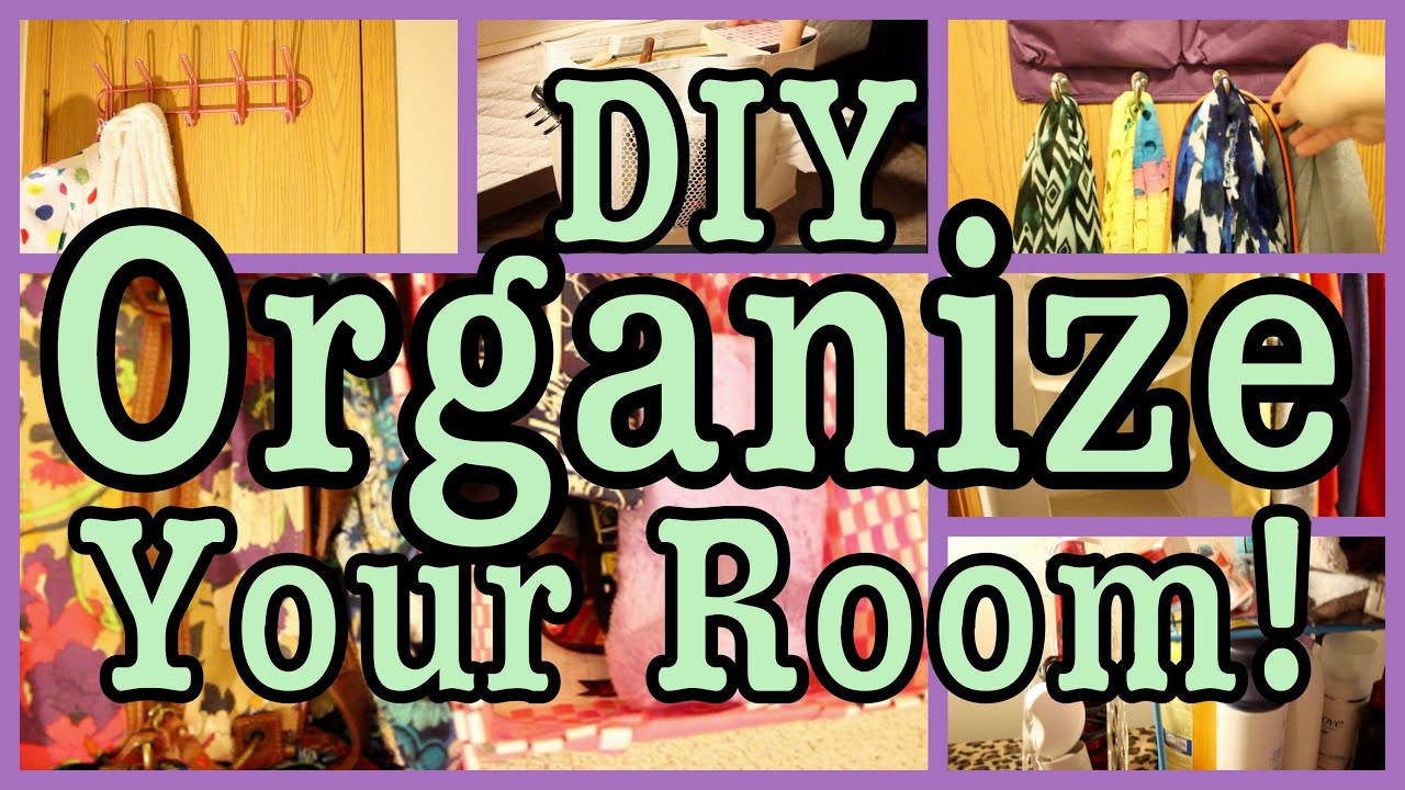 How To Organize A Small Closet With Lots Of Clothes Organize Amp Maximize Your Room Closet Amp Bathroom Youtube