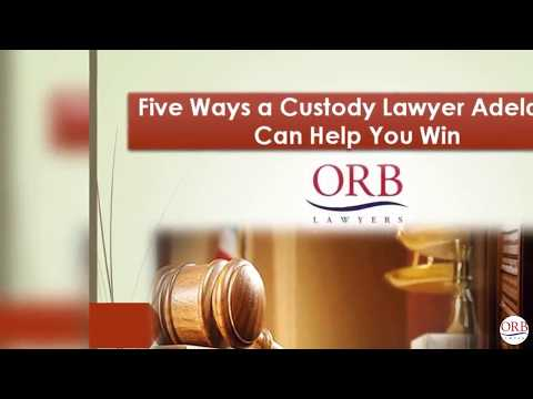 Five Ways a Custody Lawyer Adelaide Can Help You Win