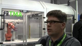 Premiera robota kartezjańskiego TMA Robots na targach Plastpol 2015