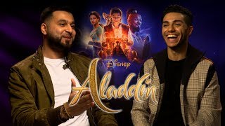 'Aladdin's' Mena Massoud Likes To Belly Dance! | Interview w/ Mistah Islah