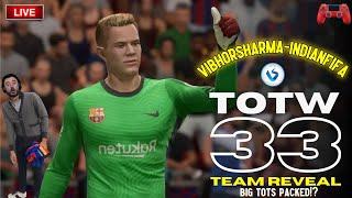 FIFA 21 LIVE || OMG WE PACKED #TOTS VARANE 🤩🤩 & TOTW 33 & LA LIGA GAURENTEE TOTS PACK || #INDIANFIFA