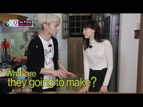Global We Got Married S2 EP04 Making Film (SHINee Key & Arisa) 140430 (샤이니 키 & 야기 아리사)