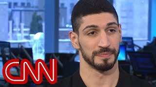 NBA's Enes Kanter: I'm scared my life would be in danger