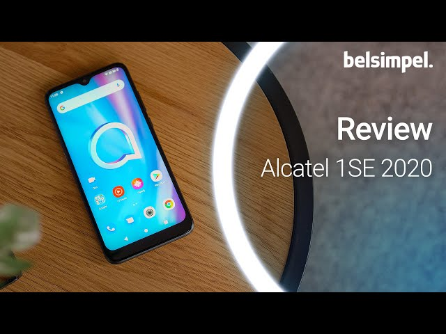 Belsimpel-productvideo voor de Alcatel 1SE (2020)