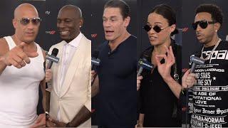 F9 Cast Interviews - Vin Diesel, Tyrese Gibson, John Cena, Michelle Rodriquez, Ludacris and More