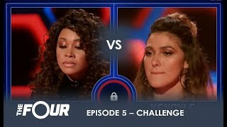 Evvie vs Kendyle: The Most UNEXPECTED Battle Of The Night!   S1E5   The Four