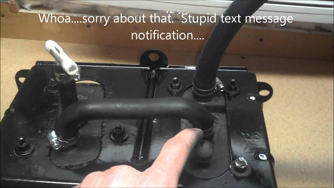 P0455 Evap System Leak Repair 2001 Dodge Ram Youtube