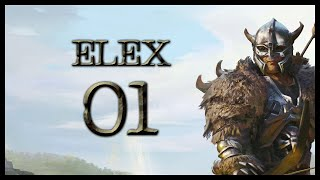 ELEX Gameplay Walkthrough Let's Play Part 1 (BETRAYED!)