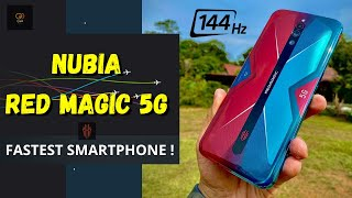 Fastest Smartphone In The World ?! Nubia Red Magic 5G With 144Hz Refresh Rate !