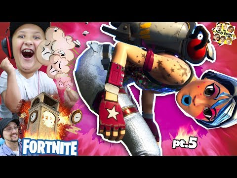 FORTNITE FUNNY EPIC MOMENTS COMPILATION w/ FGTEEV Mike (Battle Royale)