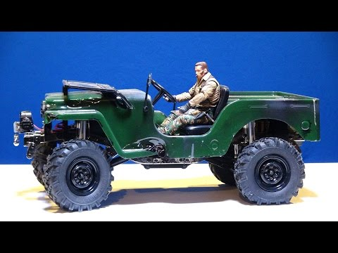 RC ADVENTURES - G-Made GS01 SAWBACK Jeep Repair - Front Axle