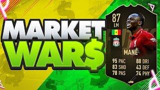 FIFA 19 MARKET WARS!!! CRAZY NEW INFORM MANE Vs AJ3