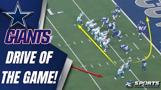✭ Kellen Moore is in his bag! || Dak executes the Drive of the Game vs the Giants ALL 22 Highlights