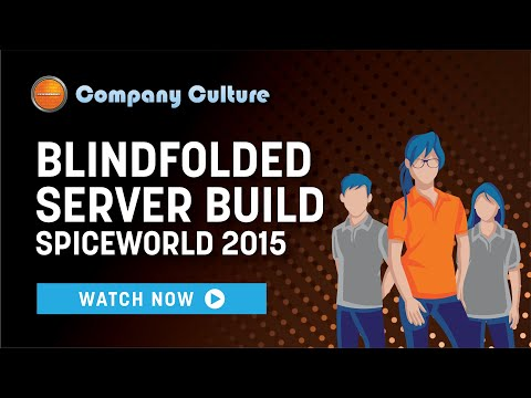 xByte Blindfolded Server Build - SpiceWorld 2015