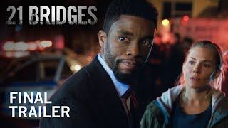 21 Bridges | Final Trailer | Now In Theaters HD