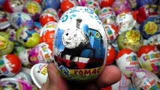 Kinder Surprise Eggs Thomas & Friends Toys Trains for Kids