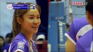 [วอลเลย์บอลถ้วย ก รอบชิงชนะเลิศ] PEA ศรีสะเกษ - เวียดนาม: 29.8.2558