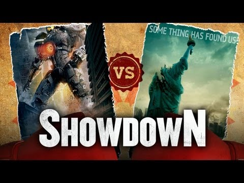 Pacific Rim vs. Cloverfield - Which Is A Better Giant Monster Movie? Showdown HD