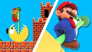 Super Mario vs Pacman CRAZY BATTLE