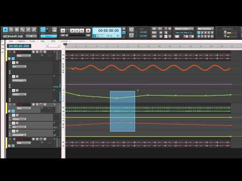 SONAR X2: Get Started - Automation Lanes