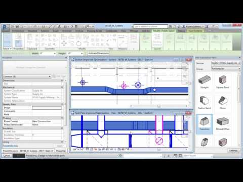 Revit 2017 What's New Design to Fabrication