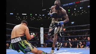 DEONTAY WILDER-DOMINIC BREAZEALE DREW 990,000 LIVE VIEWS ON SHOWTIME!!