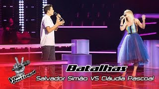 "Salvador Simão VS Cláudia Pascoal – ""Say Something"" 