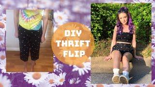 THRIFT FLIP| CLOTHING TRANSFORMATION