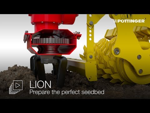 LION power harrows - Prepare the perfect seedbed - animation