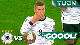 ¡Kroos se convierte en figura! | Alemania 4 - 0 Bielorussia | UEFA EURO Qualifiers - G-C -J9 | TUDN