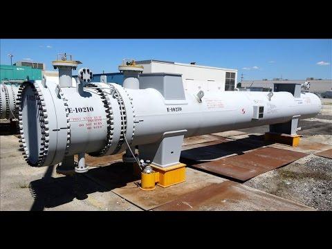 Unused- Ilsung Corporation 4 Pass U Tube Shell & Tube Heat Exchanger - stock # 48291017