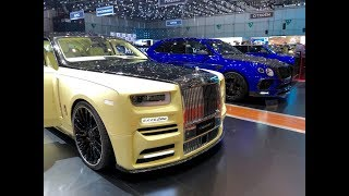 MANSORY STAND !! CRAZYYY !! Geneva's Motor Show'18 - DB11 - 720S - Rolls Royce & More...
