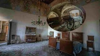 THIS TOOK MY BREATH AWAY Crumbling MAFIA Abandoned Millionaires mansion (everything left)