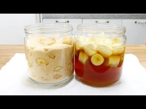 바나나식초 & 바나나청 ( Banana vinegar with banana fruit tea )