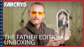 Far Cry 5: Father Edition Unboxing with Greg Bryk (The Father)   Ubisoft [NA]