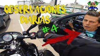 Observaciones Diarias #4   Morboseando mi moto   Saludos    Peregrinos   Humor   Motovlog
