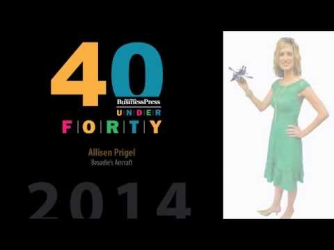 2014 Fort Worth Business Press 40 Under 40 - Allisen Prigel