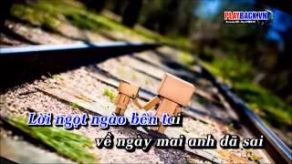 [Karaoke] Em Không Quay Về - Hoàng Tôn ft Yanbi