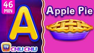 Food Alphabets ABC Phonics Song & Many More Nursery Rhymes & Kids Songs | ChuChu TV