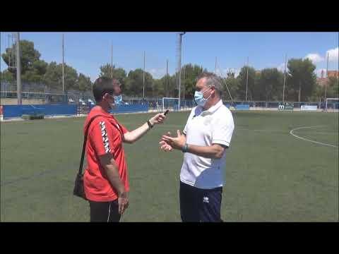 JUAN CARLOS GALINDO (Entrenador Giner Torrero) Giner Torrero 3-0 CD Morata / J 14 / Preferente Gr3