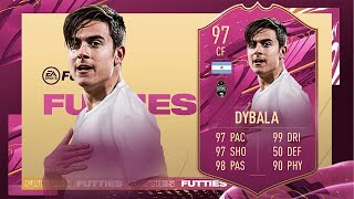 FIFA 21: PAULO DYBALA 97 FUTTIES PLAYER REVIEW I FIFA 21 ULTIMATE TEAM