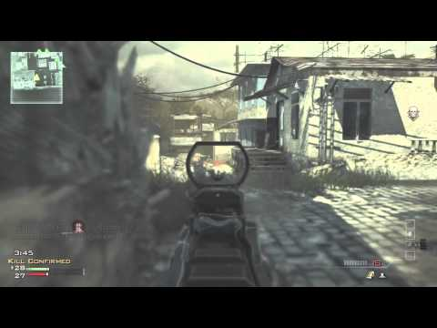 Call of Duty MW3 Gameplay KC on Mission - MK14 Rocks!