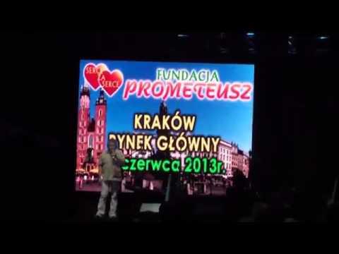 Pokaz laserowy Wielki Integracyjny Festyn dla Dzieci Fundacji Prometeusz Kraków 2014 LASERY INFO