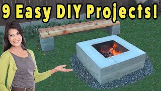 9 Fast and Easy DO IT YOURSELF PROJECTS - #1