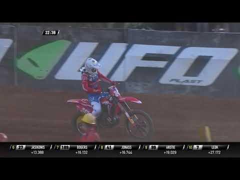 Tim Gajser Crash - MXGP Race 2 - MXGP of Indonesia 2019