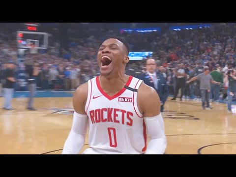 Russell Westbrook Gets Standing Ovation From Thunder Crowd In Oklahoma Return! Rockets vs Thunder