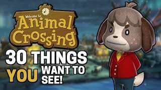 30 Things YOU Want In Animal Crossing Switch!! (Reading Your Comments)