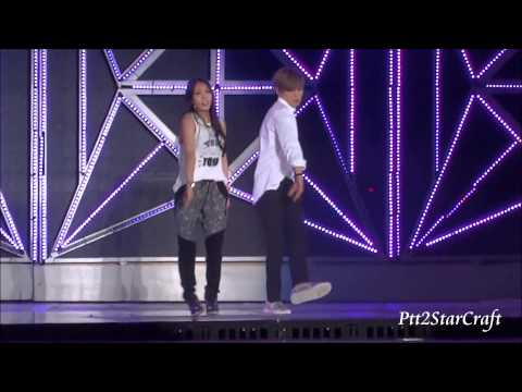 140815 Boa-Only One (Feat. Eunhyuk) @ SMtown